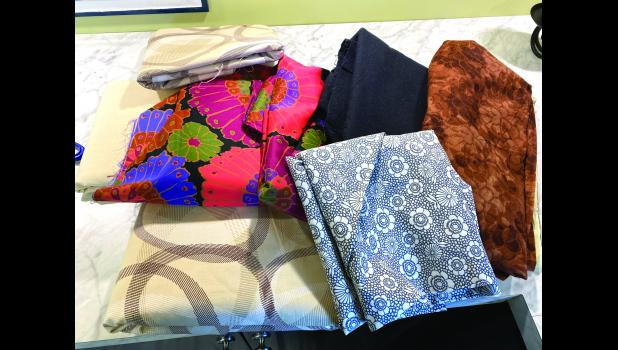 Missouri Star Quilt Co. donated 1,700 yards of remnant fabric for the mask-making project in northwestern Missouri.