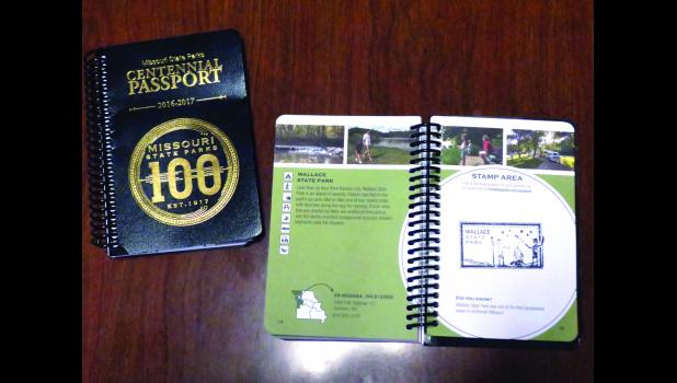 Mo State Parks celebrates 100 years with the Centennial Passport. Each park has its own unique stamp for the passport.