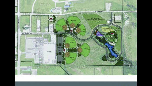 A concept photo of the proposed Community Park included in the Parks Master Plan presented at the City Council meeting on January 2.