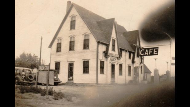 Green Gables Cafe 1941