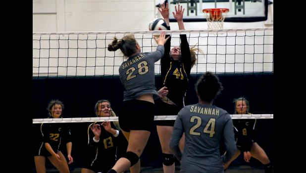 The Cameron High School Lady Dragon Volleyball Team will be under quarantine until October 3.