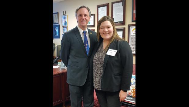 Rep. Eggleston and Katie Rooney