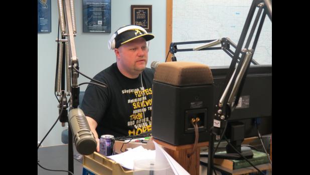 Derek Williams hosts Camp Qualitys 31st annual Radio A Thon.