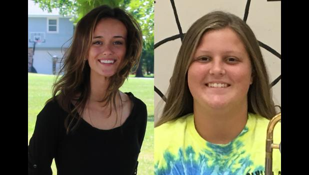 Cameron High School Students, Senior Claire Stuedle and Sophomore Natalie Shaeffer, have been selected to perform with the National FFA Chorus and National FFA Band (respectively) at the National FFA Convention in Oct.
