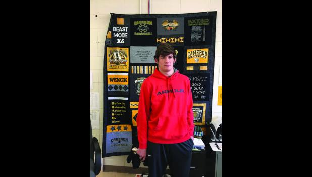 Cameron High School's Athlete of the Week: Caleb Shanks