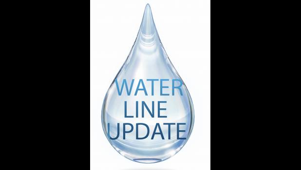 water line update