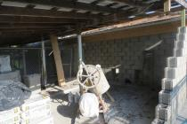 Work continues to repair the existing structure of the Cameron Animal Shelter to bring it back into state compliance.