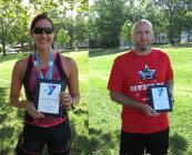 Overall Female: Karen Burec. Overall Male: Jeremy Covey