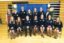 The 2018-2019 FFA Officers