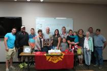 Jeremy Wilson, Chris Best, T.J. Best, Pam Walser (wife of Mike), Mike Walser, Whitney Walser, Mike Best, Parker Best, Amy Best, Hope Best, Sue Stuedle, Peggy Walser, Robin Walser, Randy Stuedle
