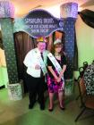 Prom King Kenny Nalle and Prom Queen Denice Cobb.
