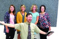 Parkview: Meghan Graeff, Addie Floyd, Andrew Owens, Summer Howe, and Ashley Cawthon