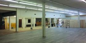 Shown here is the inside to of the future American Gold Mine location in Cameron, replacing Porters Building Center.